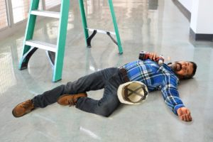 Accident in workplace