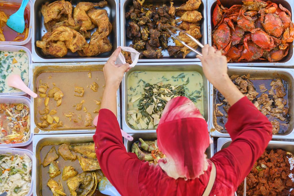 food market buffet